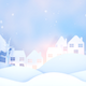 Christmas Winter Village Paper Art - VideoHive Item for Sale