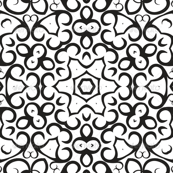 Medallion Circular Design - Patterns Decorative