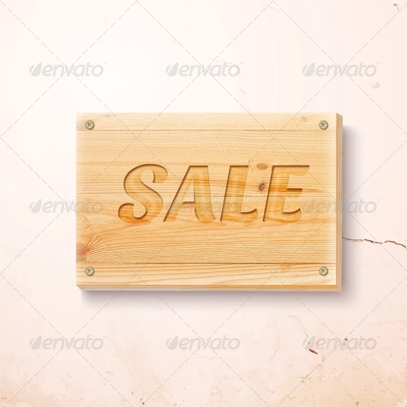 Wooden Design Template - Retail Commercial / Shopping