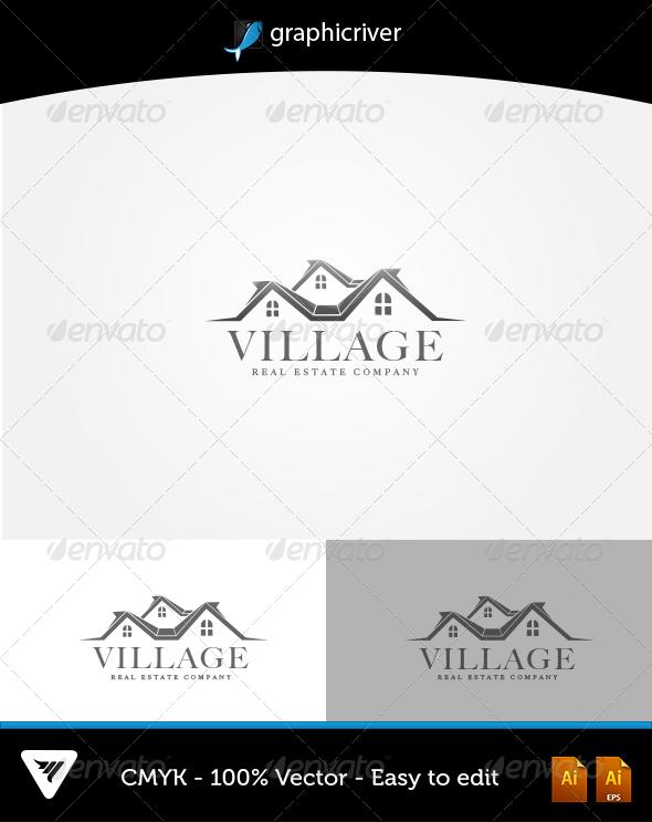 Village Logo - Logo Templates