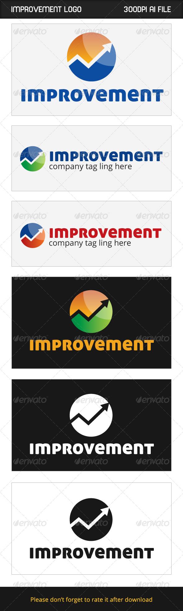 Improvement Logo - Logo Templates
