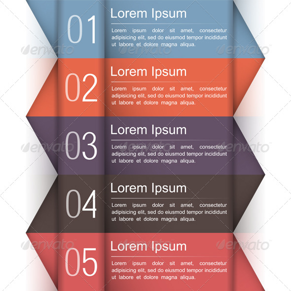 Modern Infographics Design Template - Business Conceptual