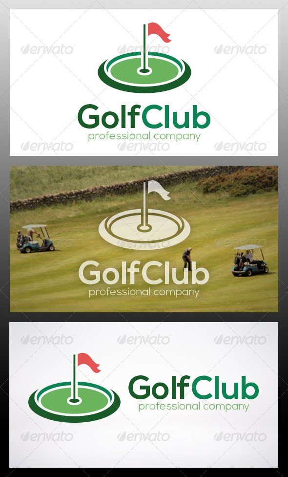 Golf Logo Template - Nature Logo Templates