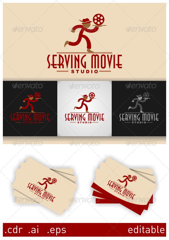 Serving Movie Studio Logo - Humans Logo Templates