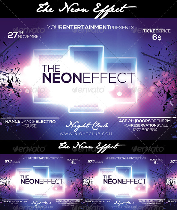 The Neon Effect - Clubs & Parties Events
