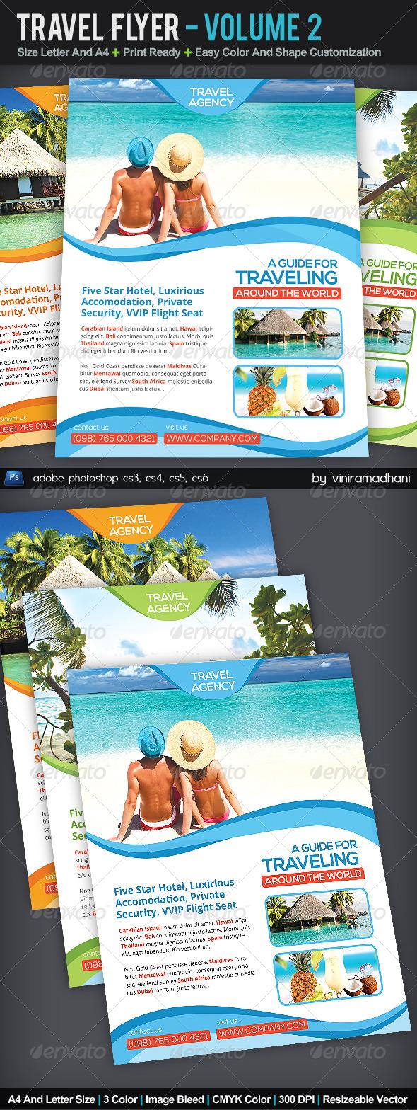 Travel Flyer | Volume 2 - Corporate Flyers