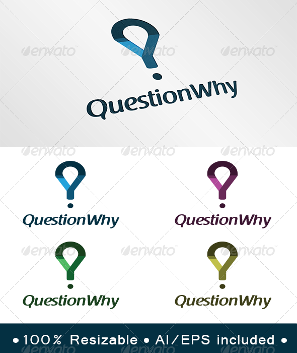 Question Why Logo - Symbols Logo Templates