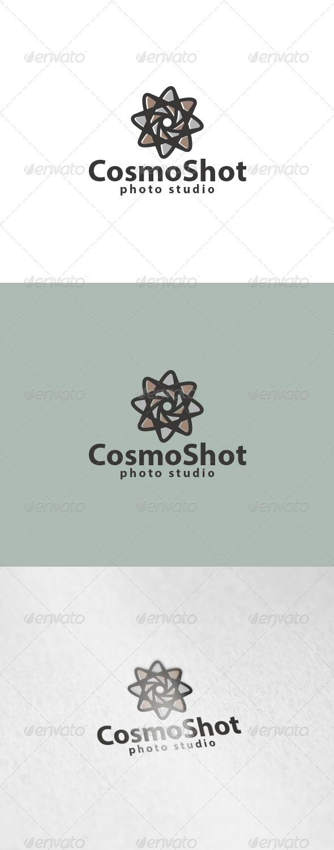 Cosmo Shot Logo - Symbols Logo Templates