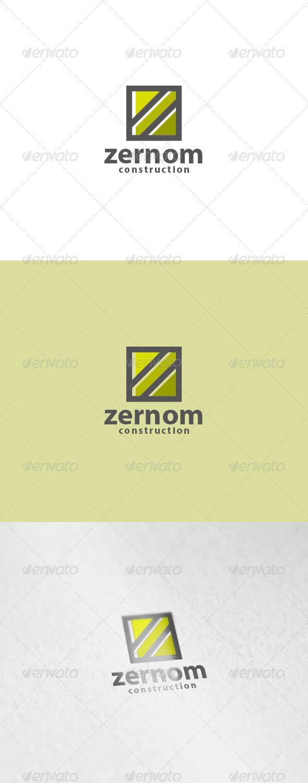 Zernom Logo - Letters Logo Templates