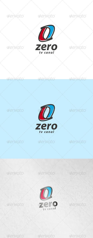 Zero Logo - Numbers Logo Templates