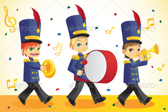 Marching Band - People Characters
