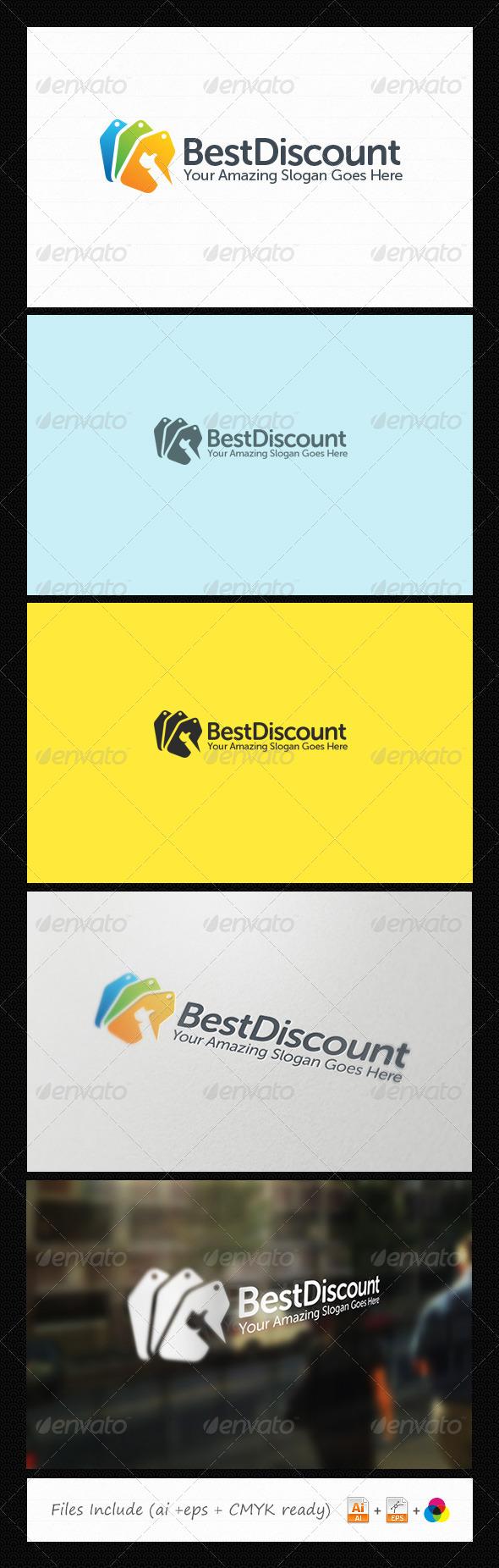Best Discount Logo - Symbols Logo Templates
