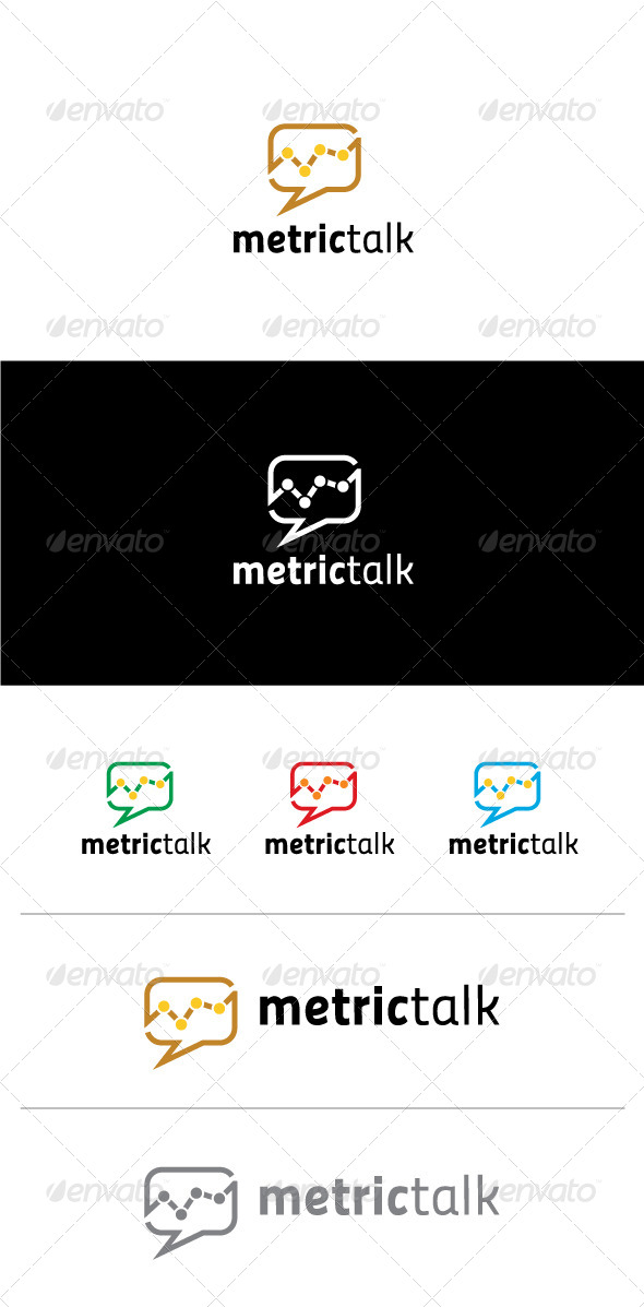 Metric Talk Logo Template - Objects Logo Templates