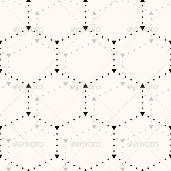 Seamless Hexagon Pattern. - Patterns Decorative