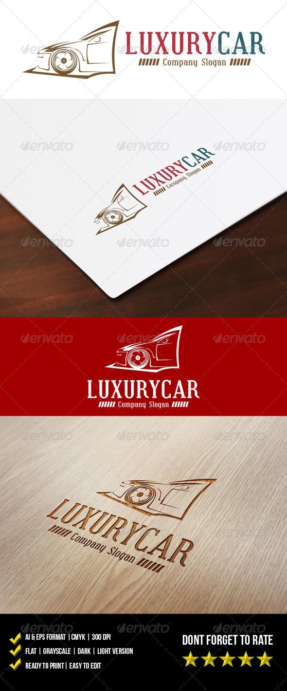 Luxury Car Logo - Objects Logo Templates