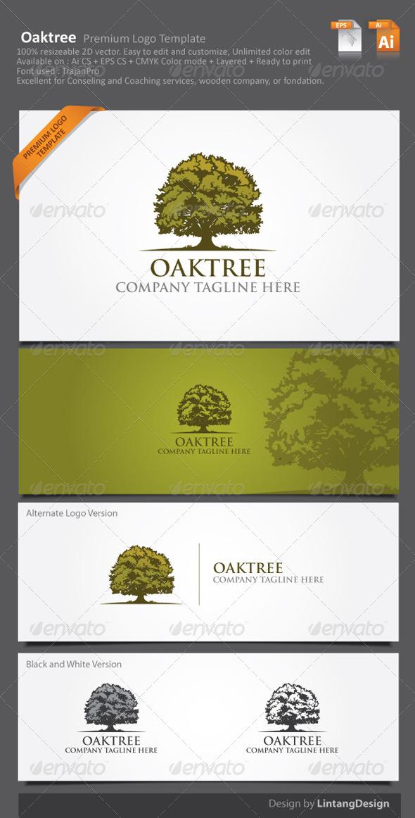 Tree Logo-002 - Nature Logo Templates