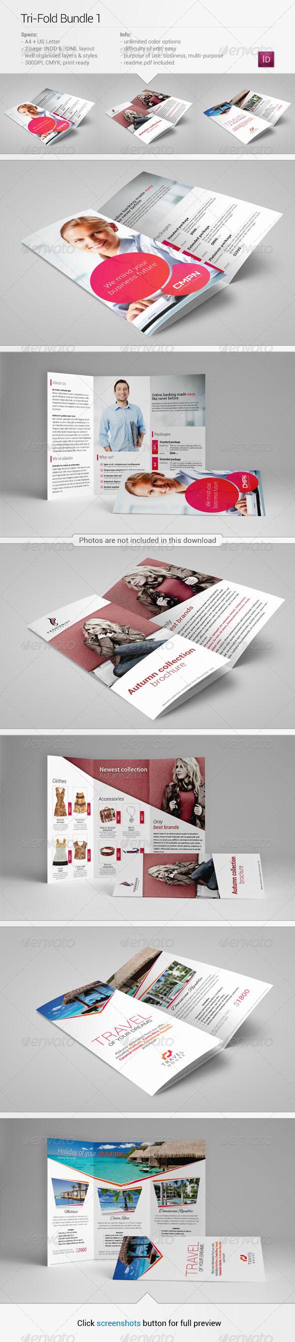 Tri-Fold Bundle 1 - Corporate Brochures