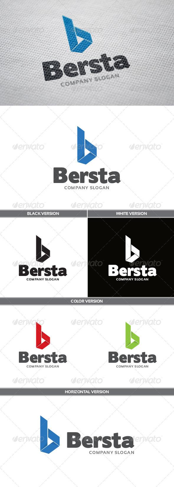 Bersta Logo - Letters Logo Templates