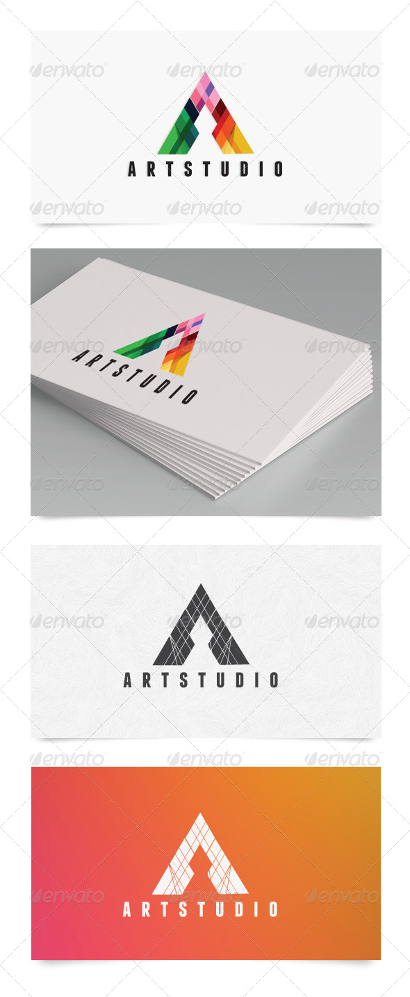 A Letter  - Letters Logo Templates