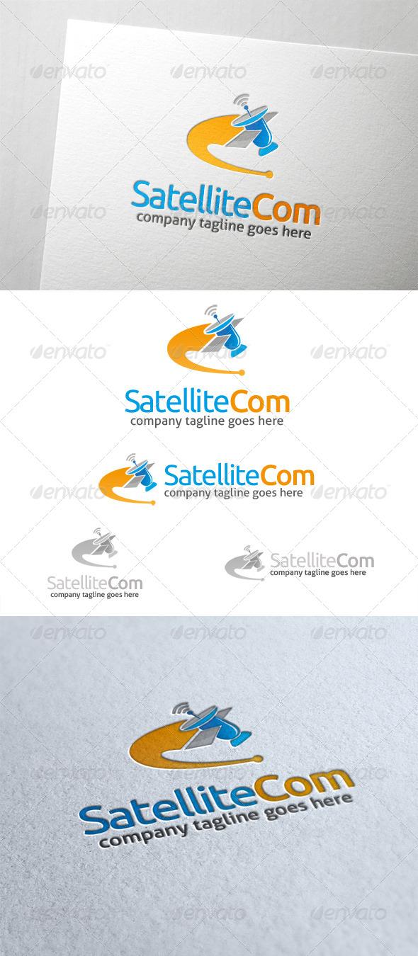 Satellite Communication Logo - Objects Logo Templates