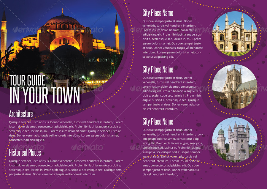 history city guide template brochure by braxas