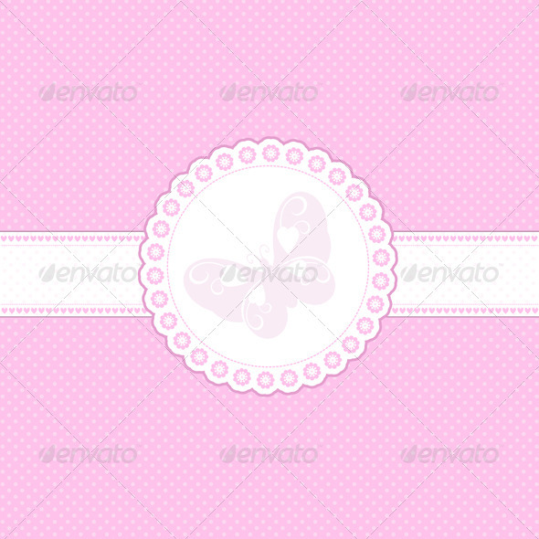 Cute Pink Background - Backgrounds Decorative