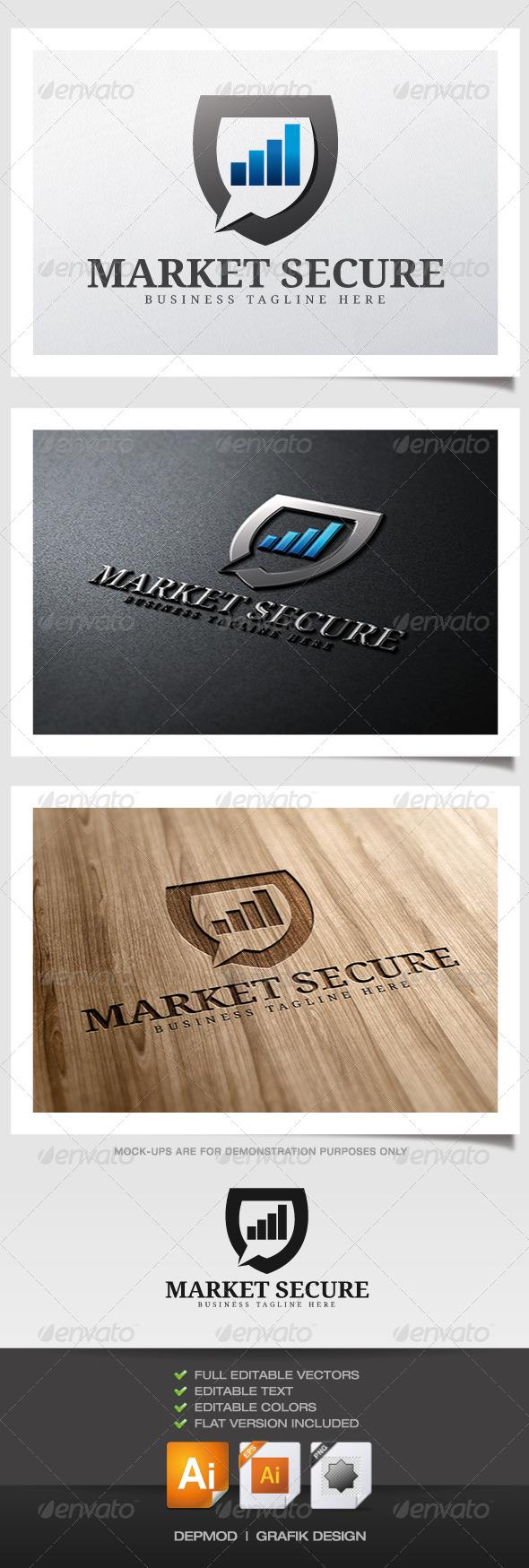 Market Secure Logo - Symbols Logo Templates