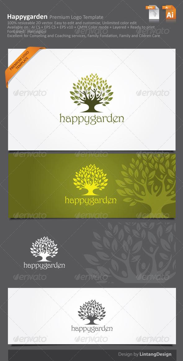 Tree Logo 003 - Nature Logo Templates