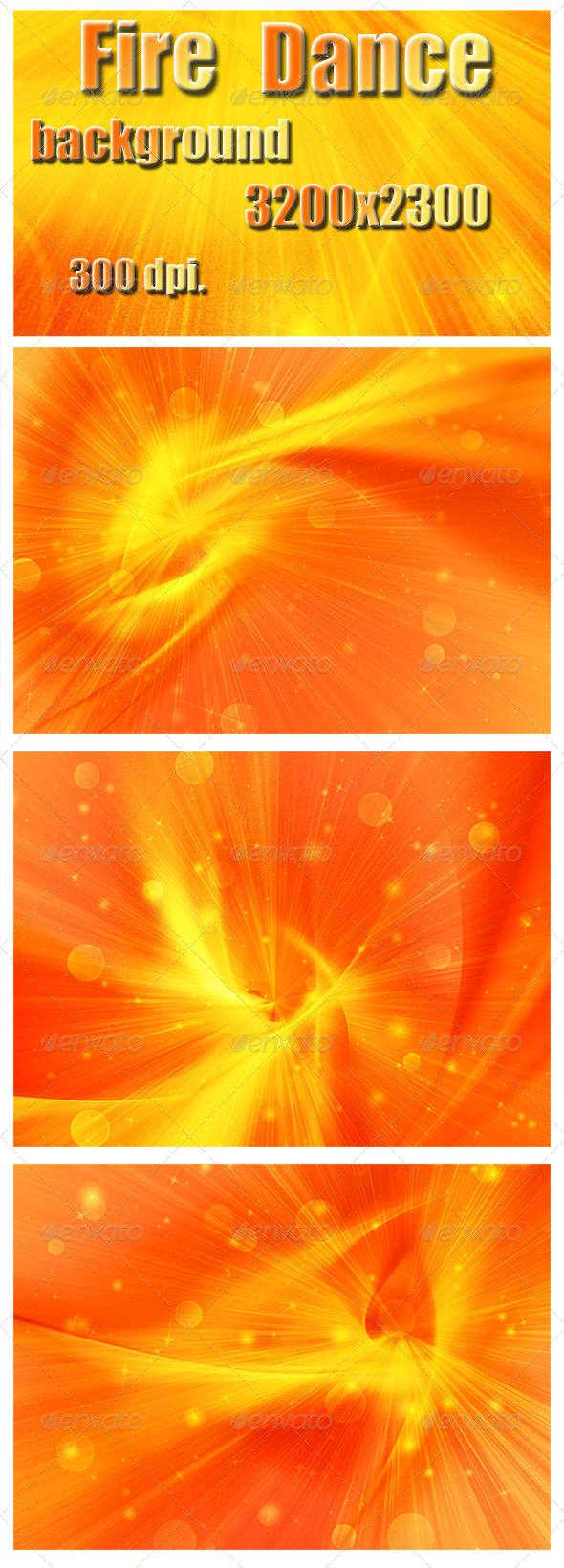 Fire Dance - Abstract Backgrounds