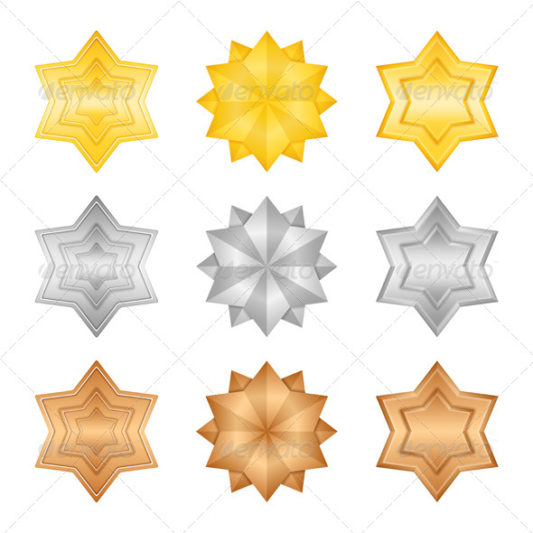 Stars - Objects Vectors