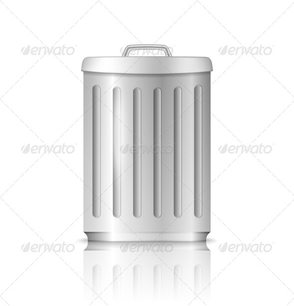 Trash Can - Objects Vectors