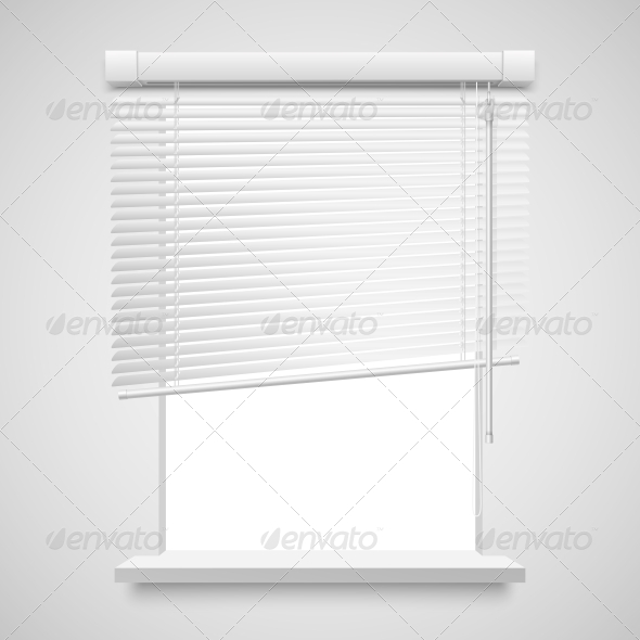 Home Related Blinds - Man-made Objects Objects