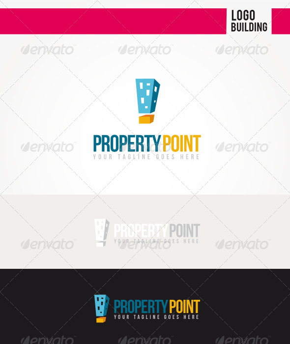 Property Point Logo - Buildings Logo Templates