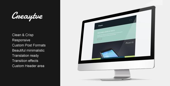 Creaytve – Clean & creative blogging