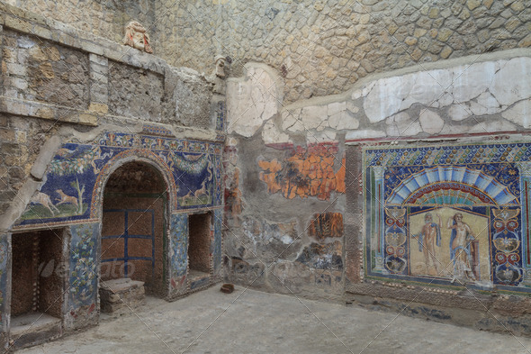 herculaneum - Stock Photo - Images