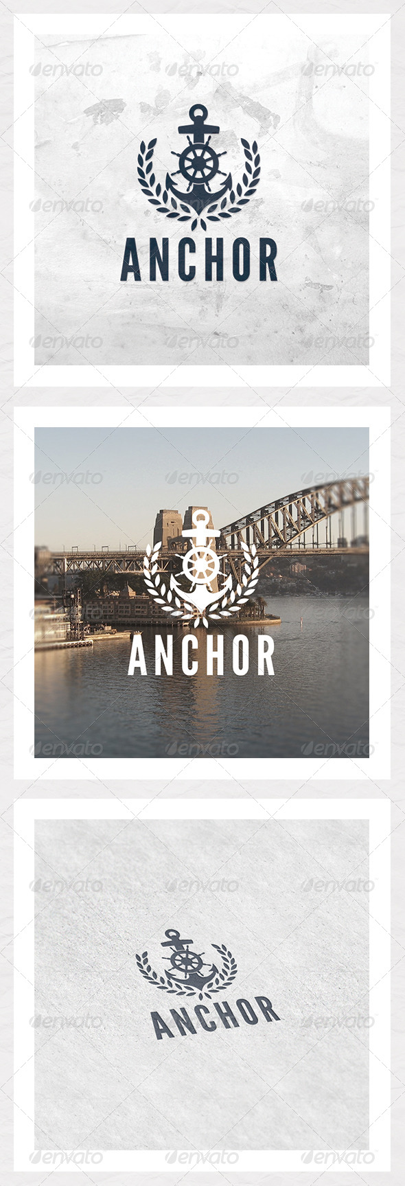 Anchor Logo Template - Symbols Logo Templates