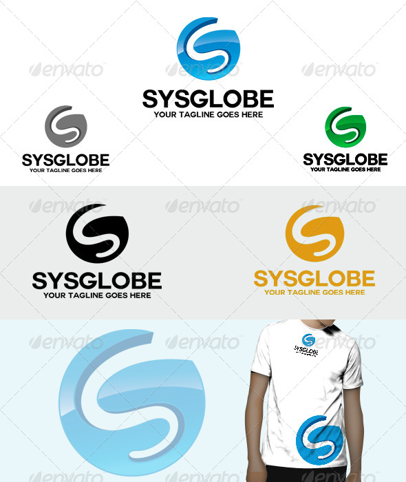 Sys Globe 3D Logo - 3d Abstract