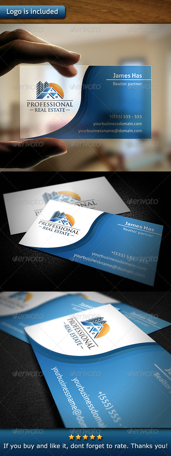 Realty Business Card - Corporate Business Cards