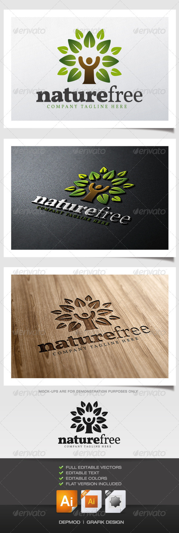 Nature Free Logo - Nature Logo Templates