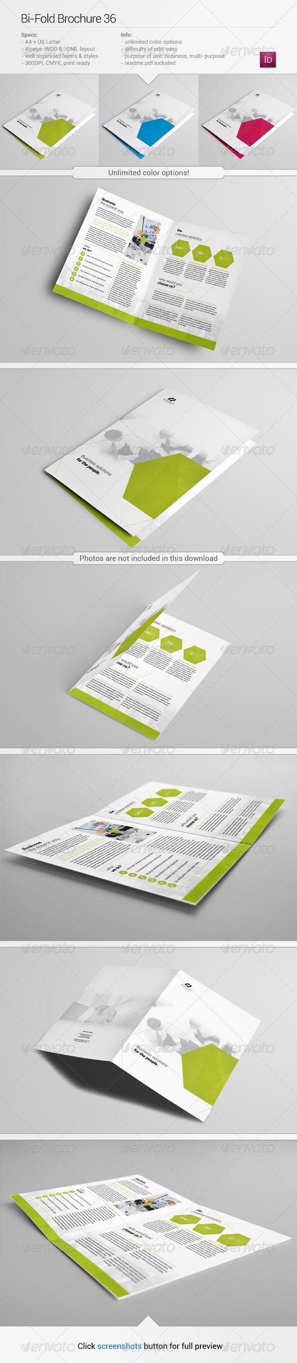 Bi-Fold Brochure 36 - Corporate Brochures