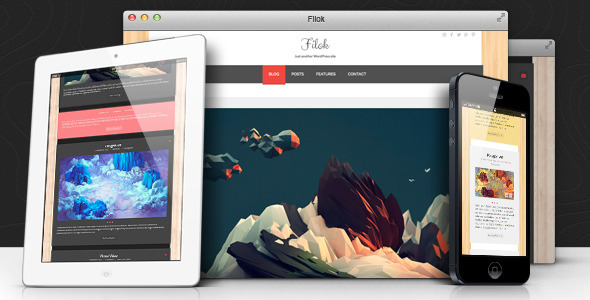 Filok WP Theme - Responsive & Retina Ready - Personal Blog / Magazine