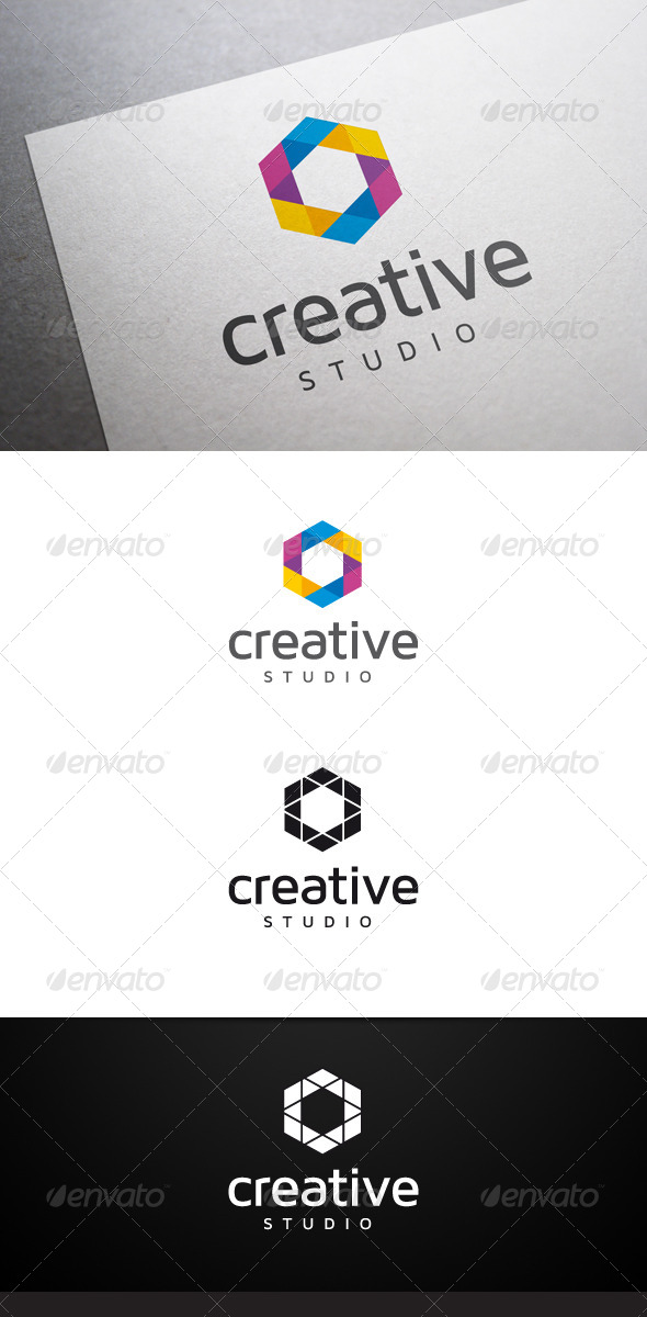 Creative Studio V2 Logo - Abstract Logo Templates