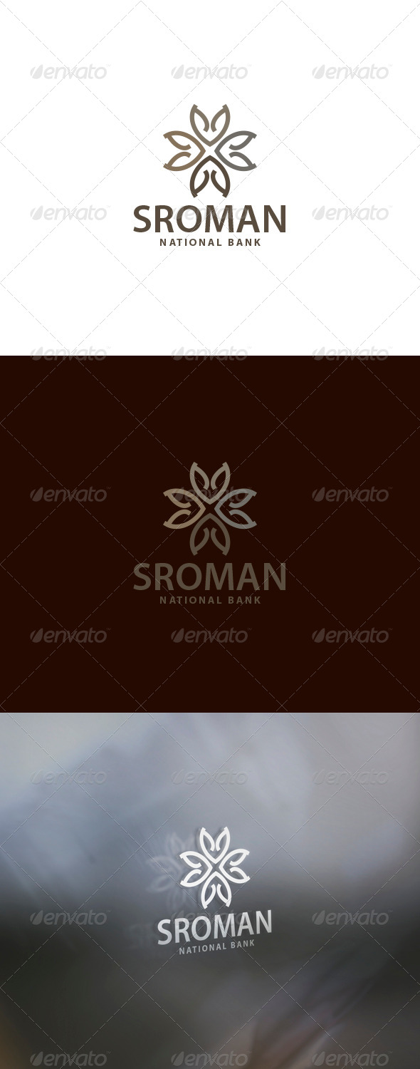 Sroman Logo - Vector Abstract