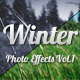 Winter Photo Effects Vol.1 - GraphicRiver Item for Sale