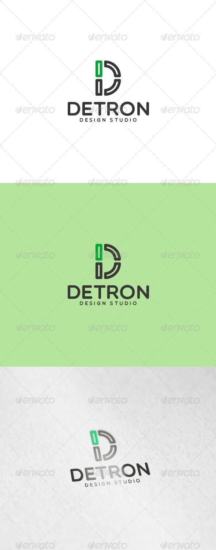 Detron Logo - Letters Logo Templates
