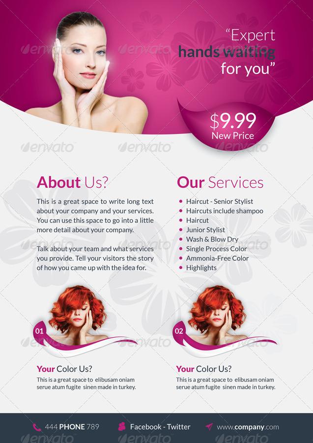 Brochure Beauty Yelommyphonecompanyco - Beautiful brochure templates