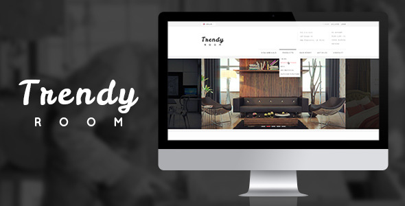 Trendy room luxury shopping psd template by munfactory for Good interior design websites