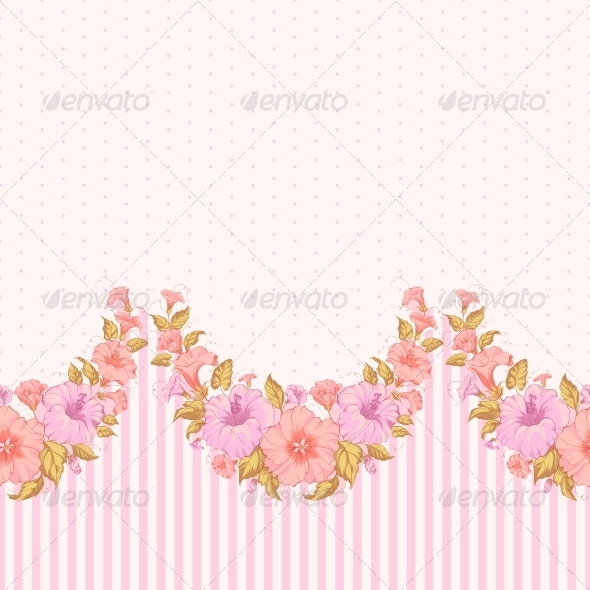 Color Flower Seamless Pattern - Flowers & Plants Nature