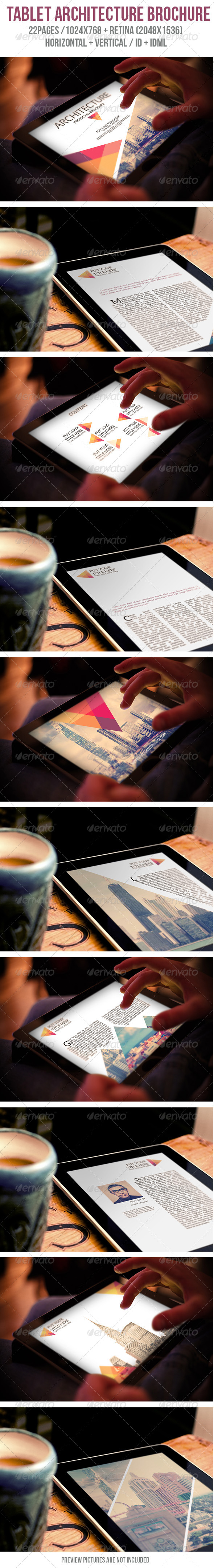 iPad & Tablet Architecture Porfolio Brochure - Digital Magazines ePublishing