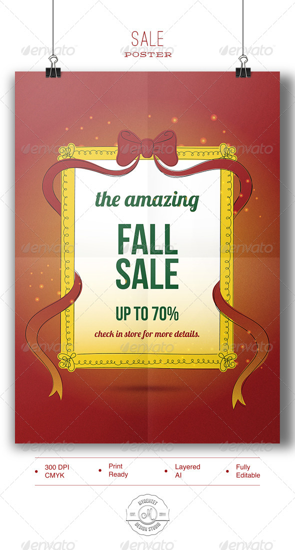 Sale Poster - Commerce Flyers